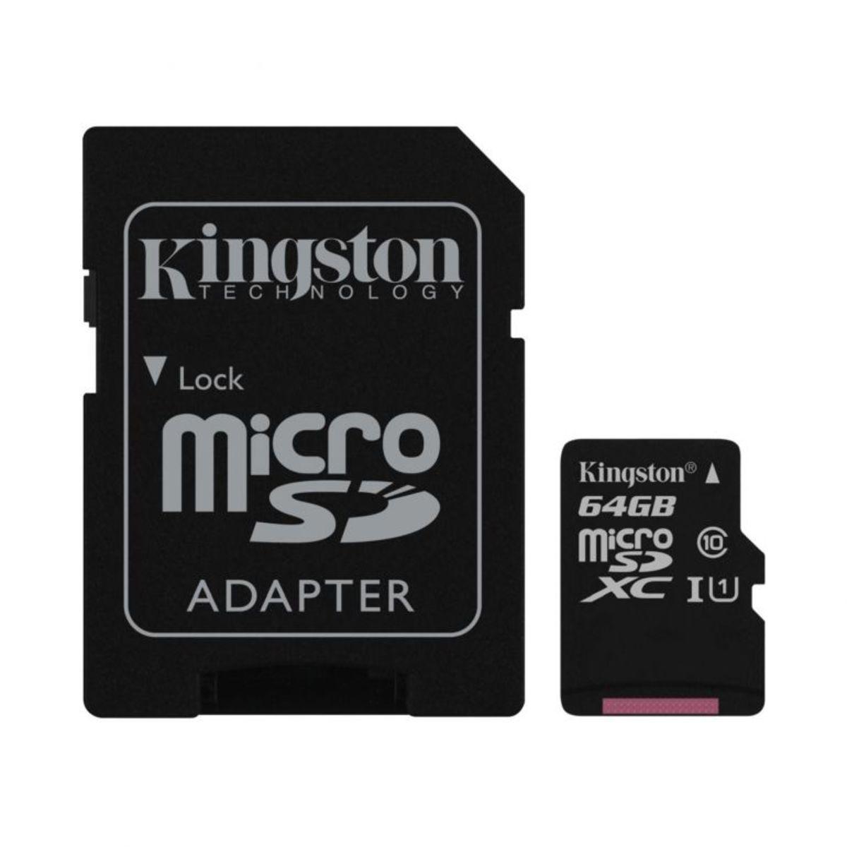 64GB Class 10 MicroSDXC Card
