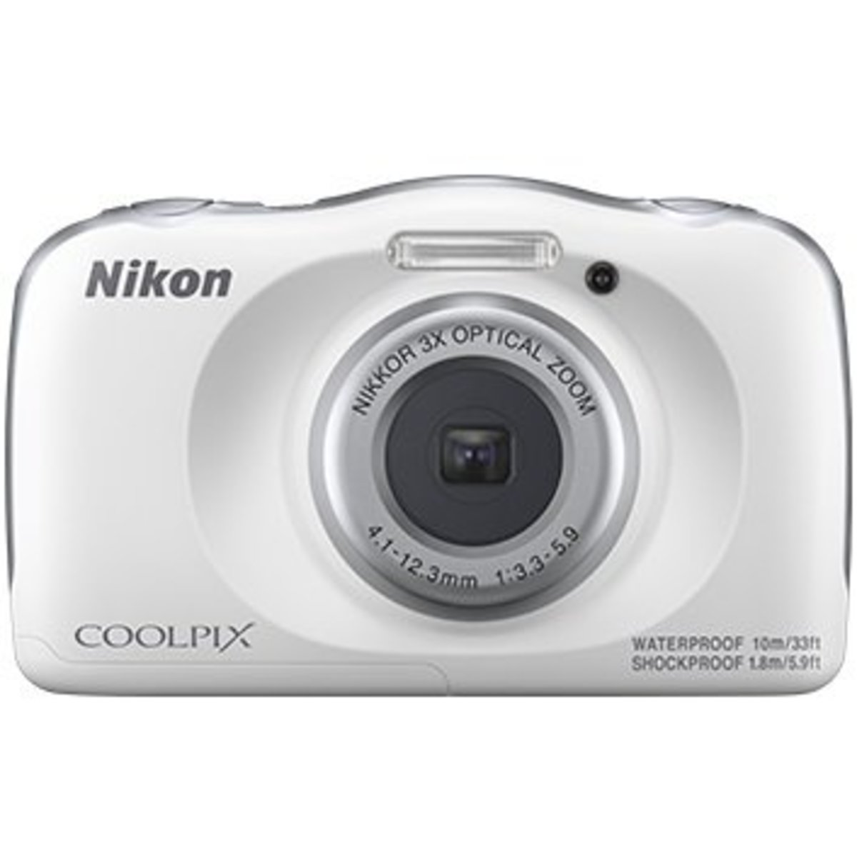 W150 Waterproof Digital Camera White Parallel imported