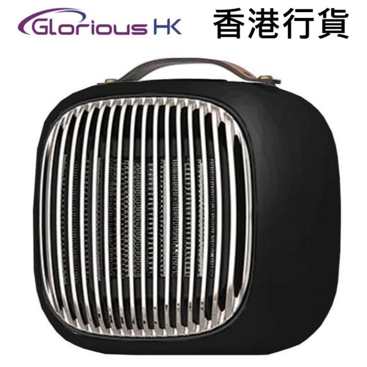 Mini Smart Fan Heater Black