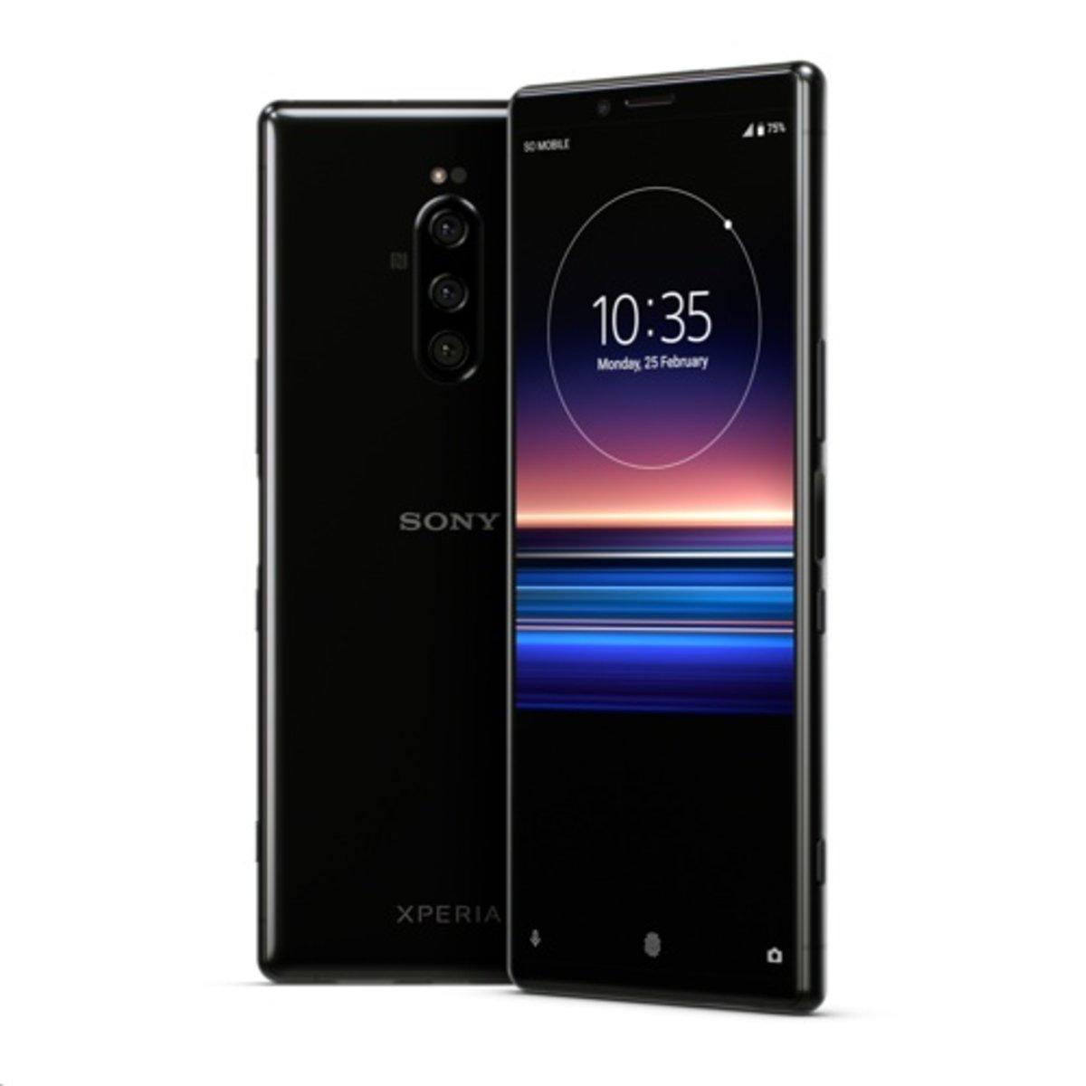 Xperia 1 6GB+128GB 夜黑色 香港行貨