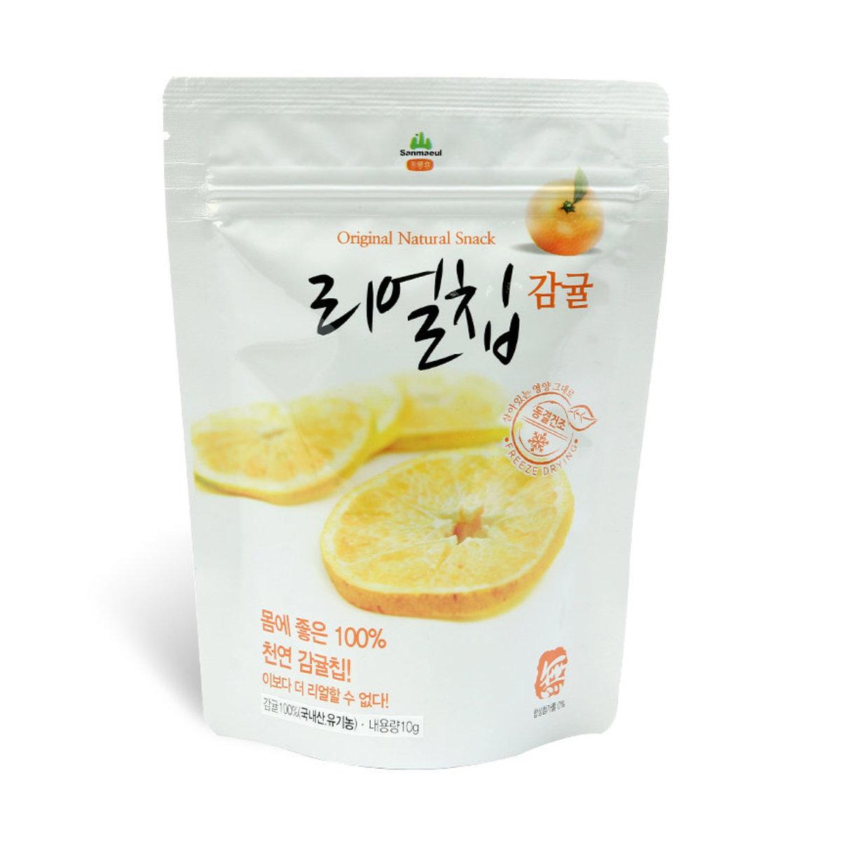 韓國蜜柑果乾 10g (1入裝)100%天然無添加