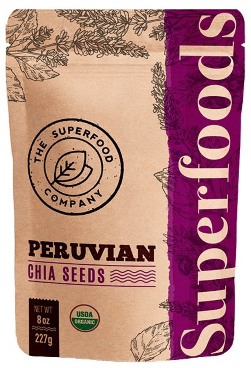 Organic Chia Seeds (227g/pack)