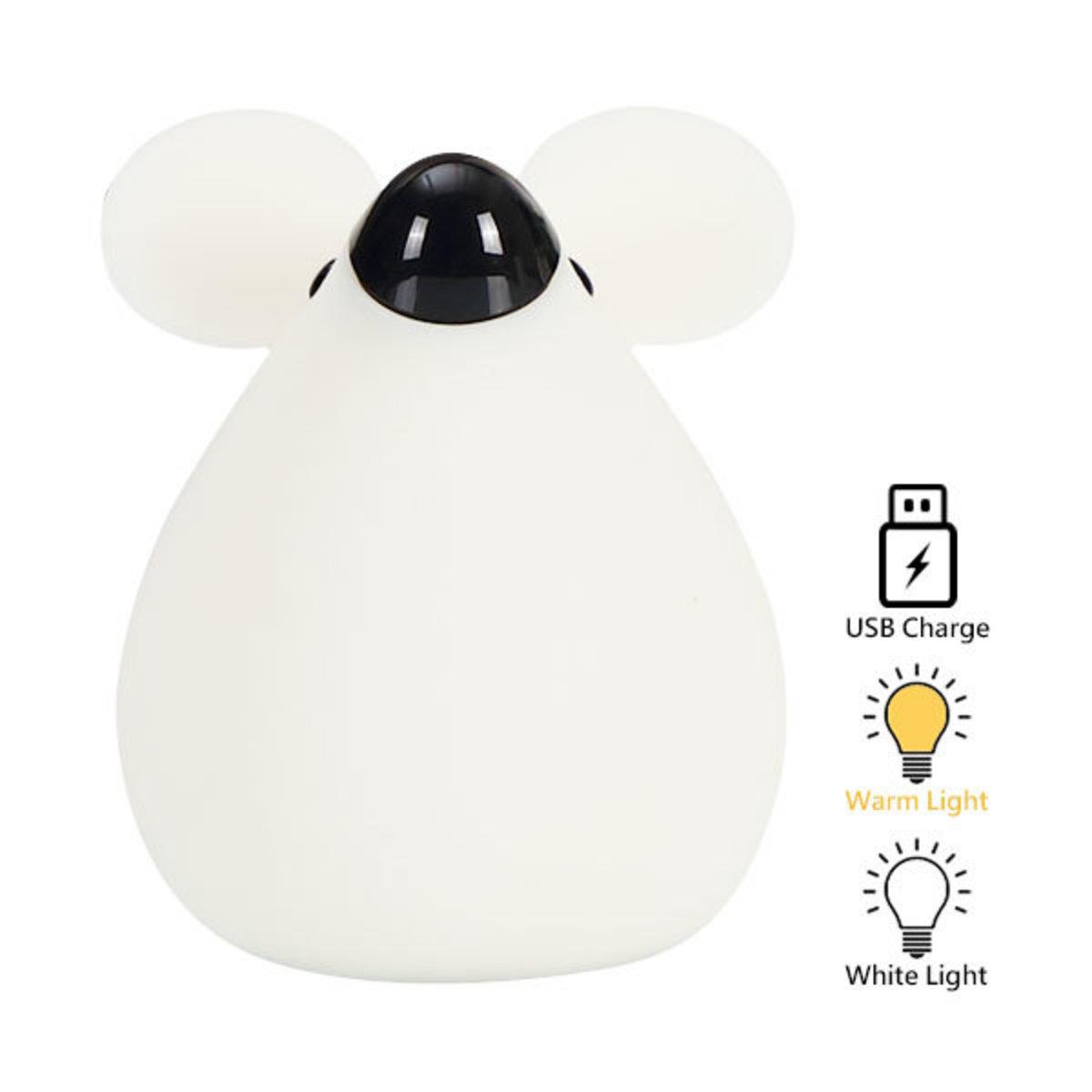 Mouse Silicone LED Night Light