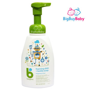 BabyGanics 奶樽洗潔液 無香型 473ml (#012429) 473毫升