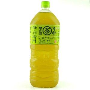 SUNTORY [原箱優惠]緑茶伊右衛門 2L X6支 (#238022) 2升 x6