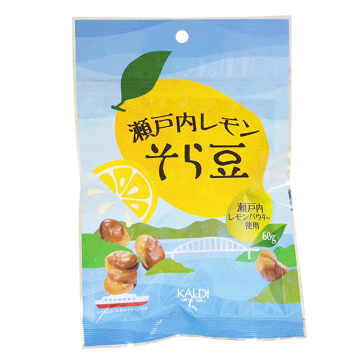 [夏季限定] 日本製 檸檬香味炸蠶豆 1包 (60g) [賞味期限:2019年10月7日]