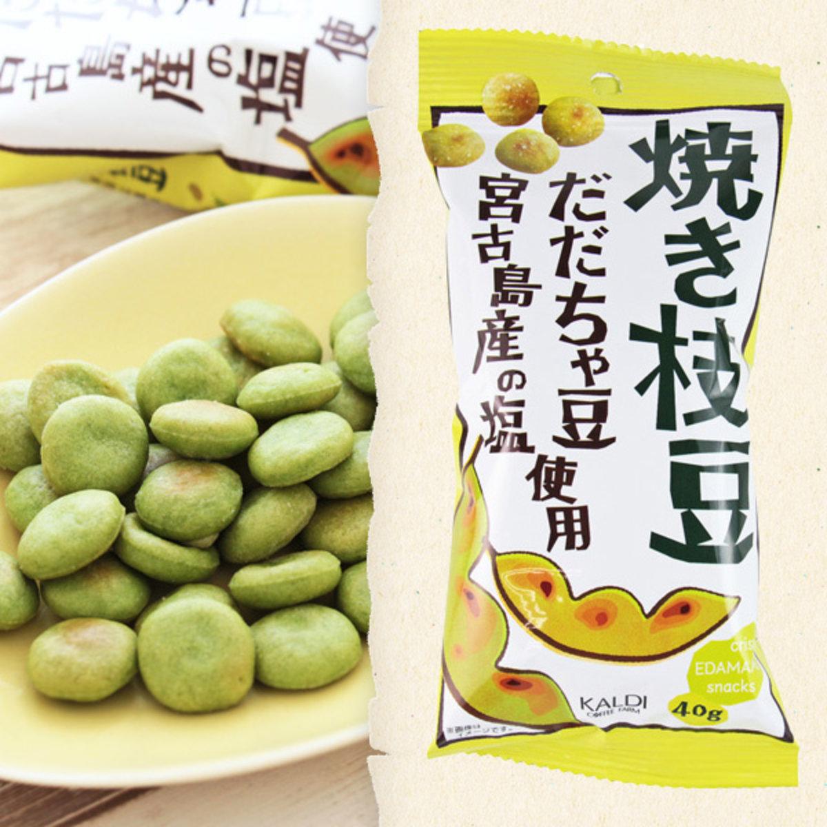 [夏季限定] 日本製 鹽味焼毛豆 1包 (40g)