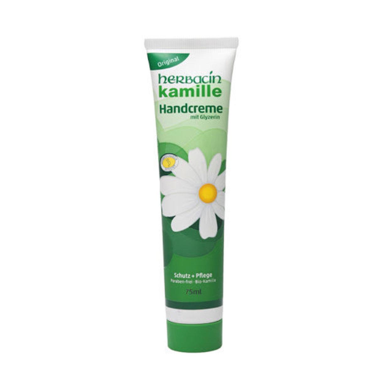 Herbacin Kamille Hand Cream with Glycerine 75ml(Parallel import)