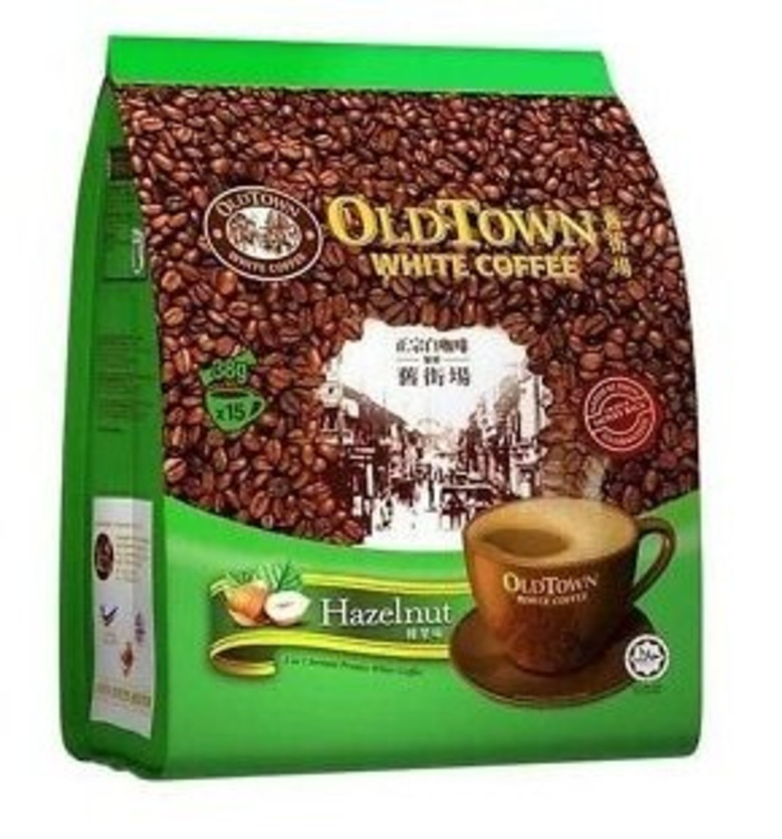 3合1榛果味白咖啡15包(平行進口貨品)