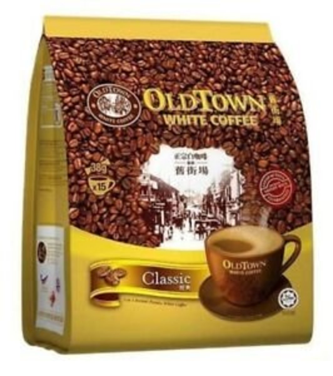 Old Town 3 In 1 Classic White Coffee(Parallel import)