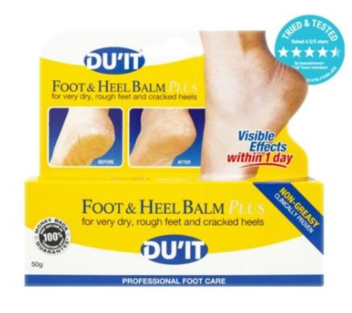 Du'it Foot & Heel Balm Plus 50g (Parallel import)