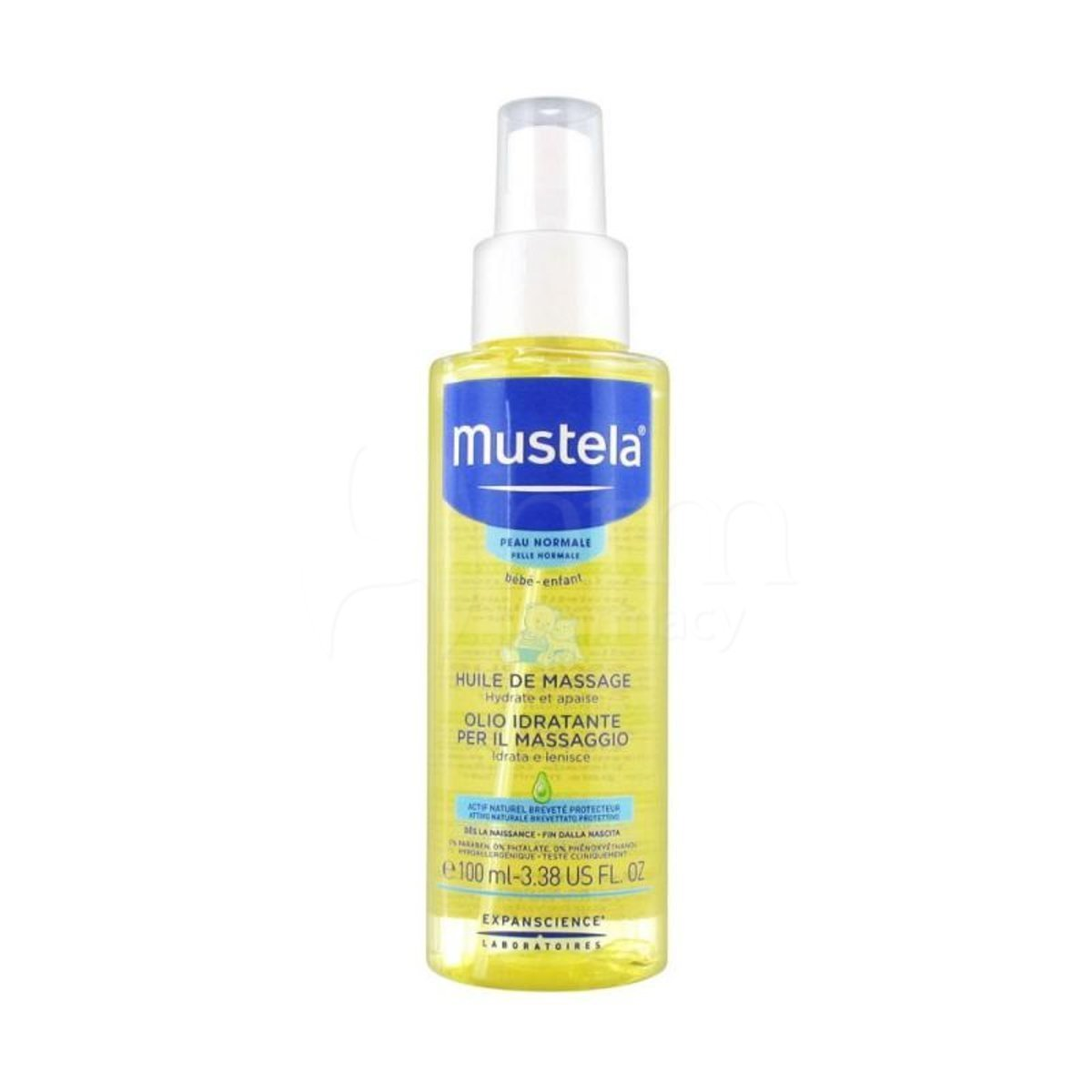 Mustela - Baby Massage Oil 100ml [Parallel Import]