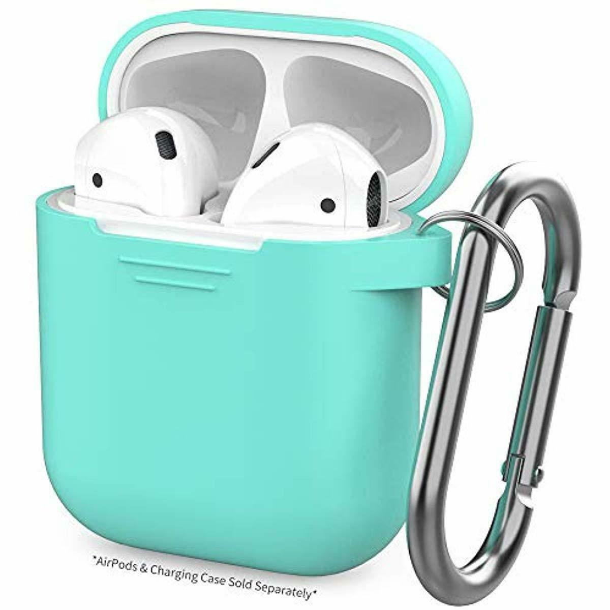 PodFit 2.0  Silicone Case Protective Cover Skin Compatible with Apple AirPods 2 & 1 TEAL