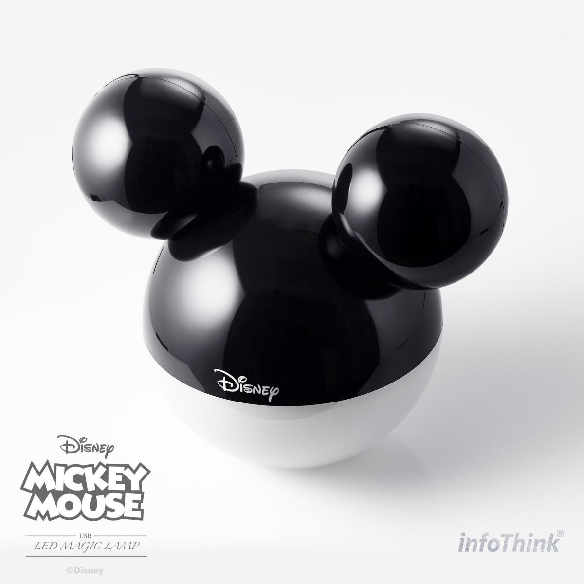 Mickey LED Magic Lamp BLACK (HK Authorised Product)