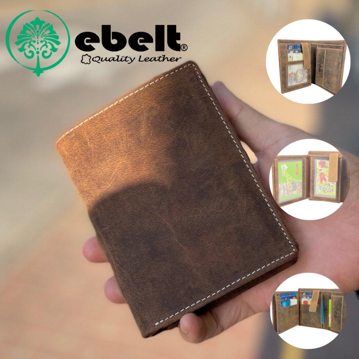 ebelt Full Grain Buffalo Hunter Series Leather Wallet - WM0137