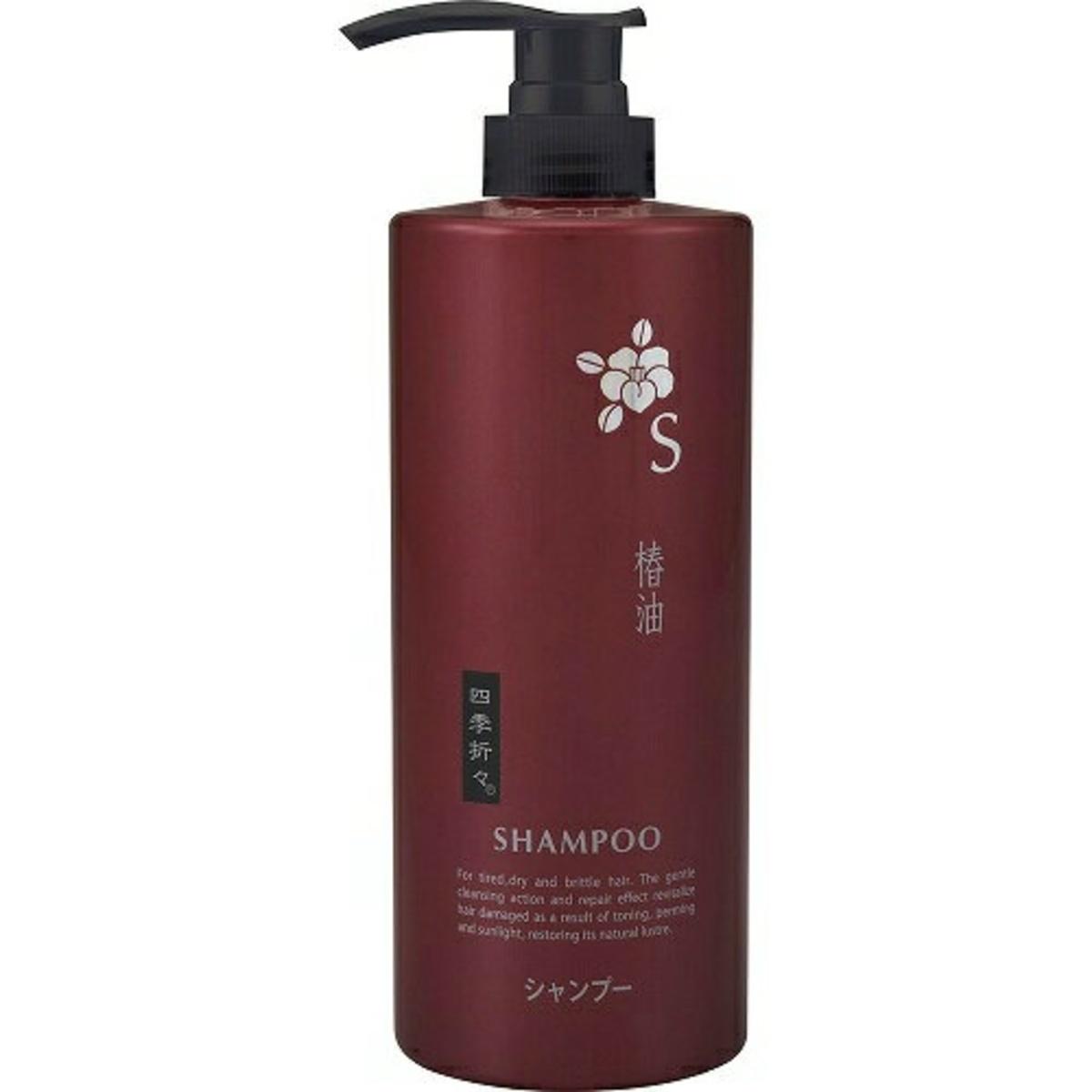 熊野油脂椿油洗髮水600ML