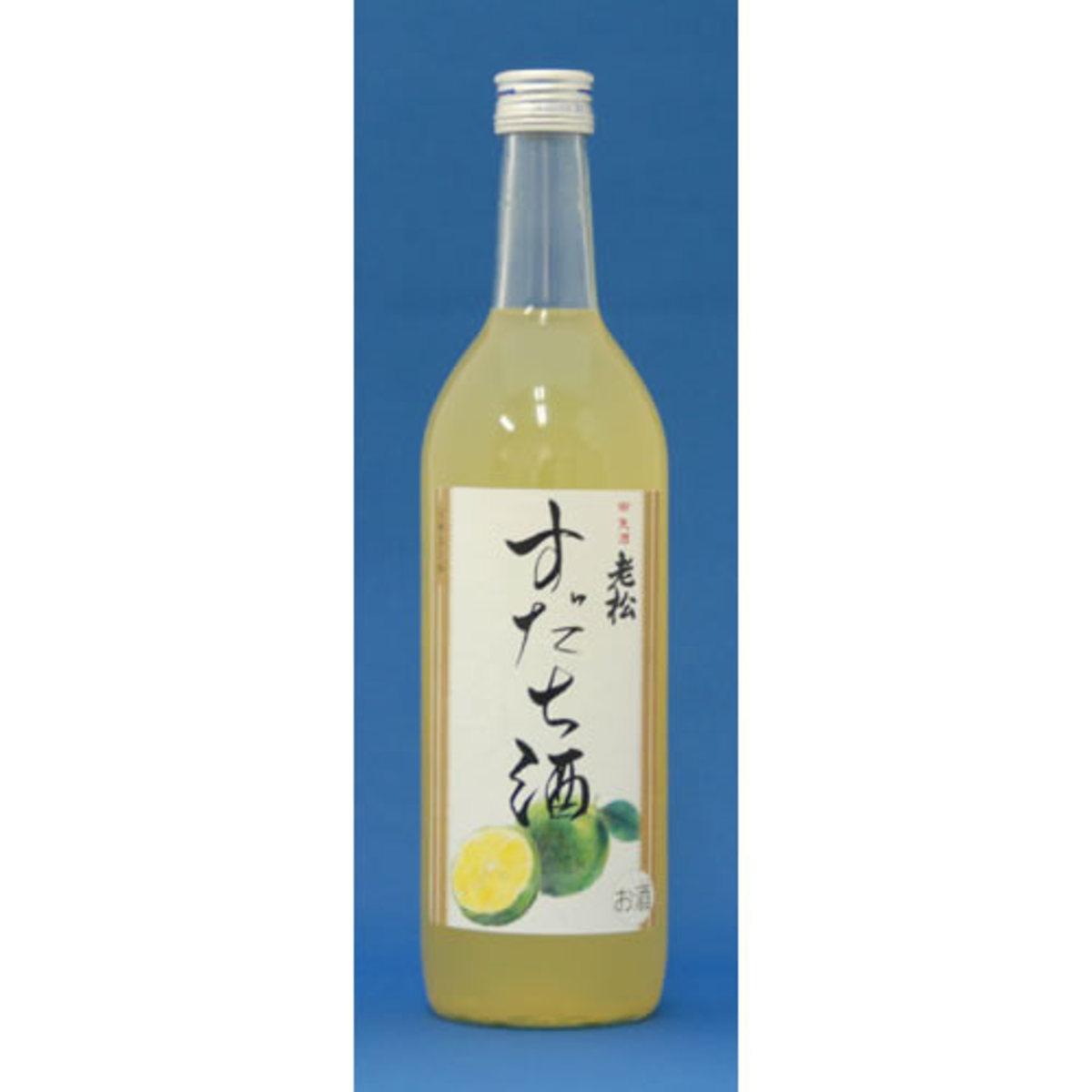 OIMATSU SUDACHI CITRUS SAKE 720ML