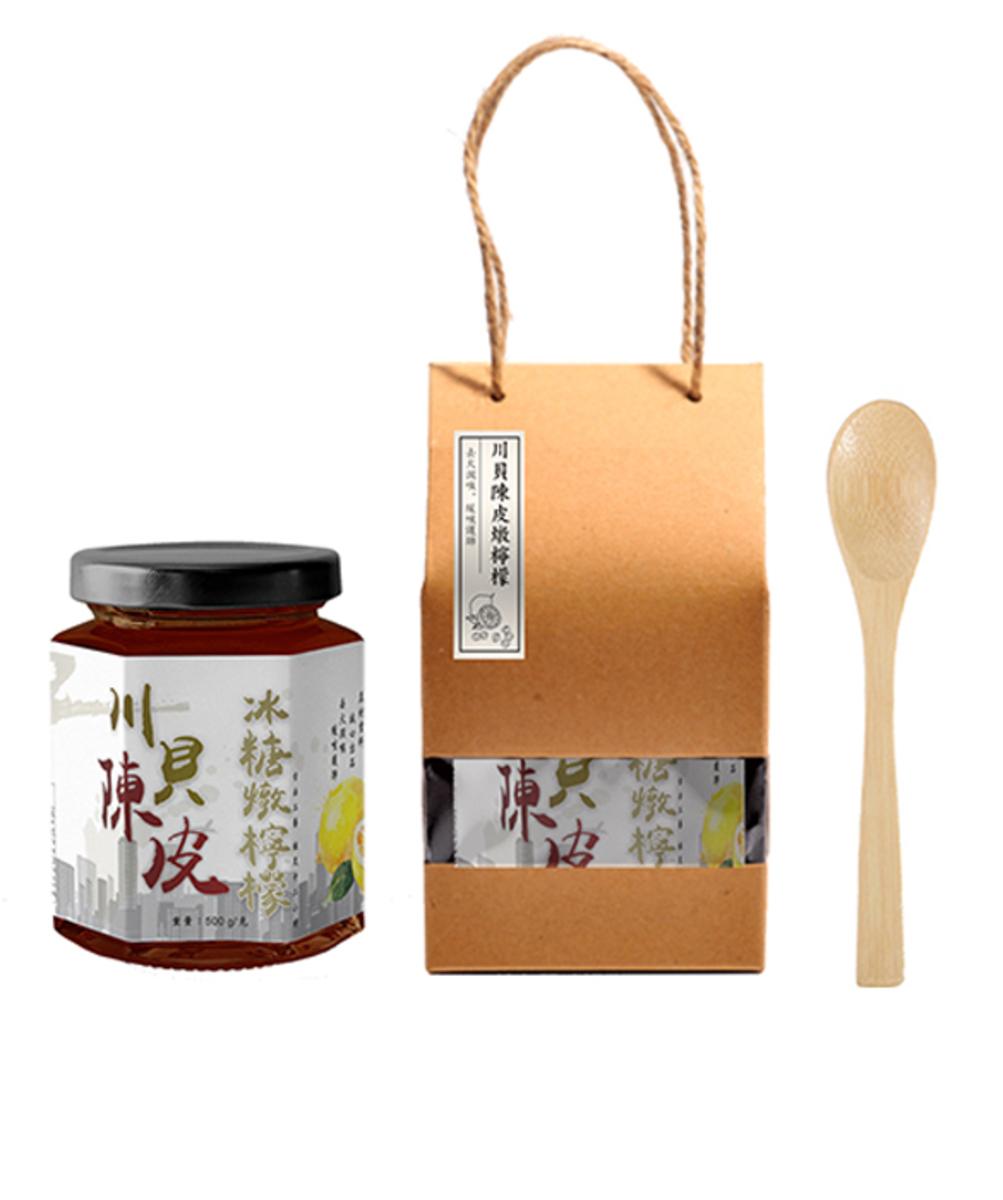 【皇牌】川貝陳皮冰糖燉檸檬 送木羹_A1