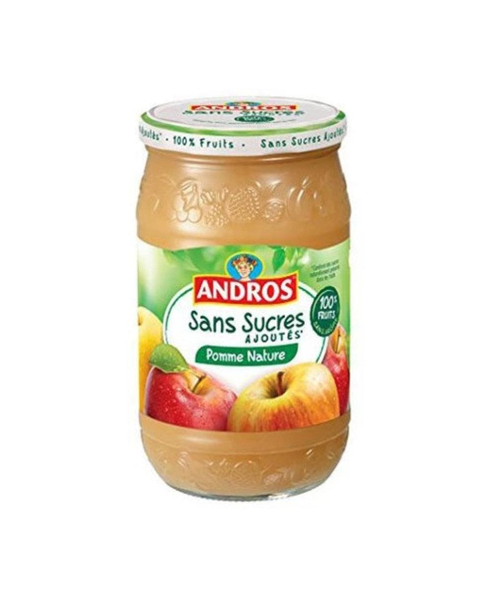 法國直送 - ANDROS - 蘋果果蓉甜品 - 730g