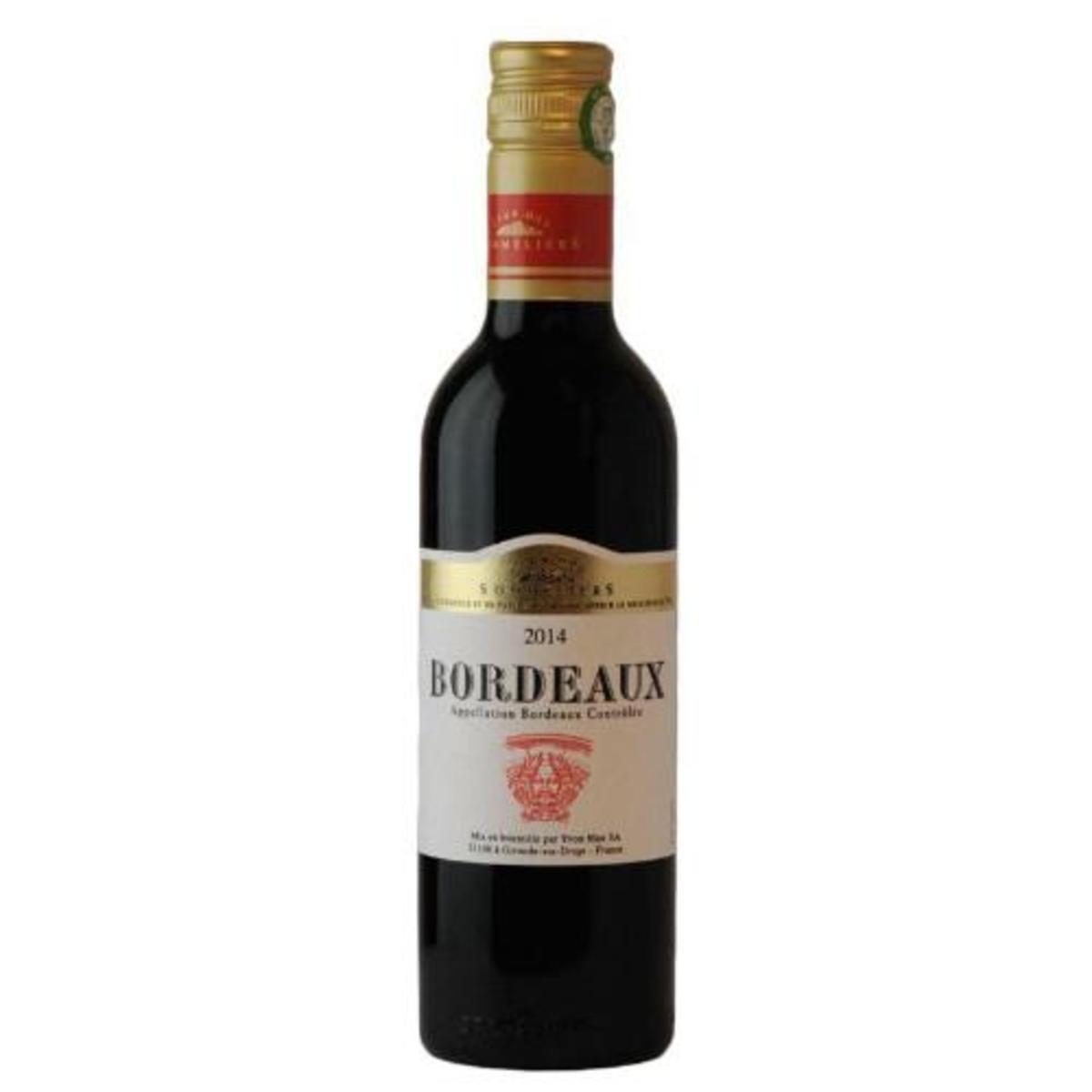 法國直送 - Bordeaux Red Wine Club des Sommeliers (375ml)