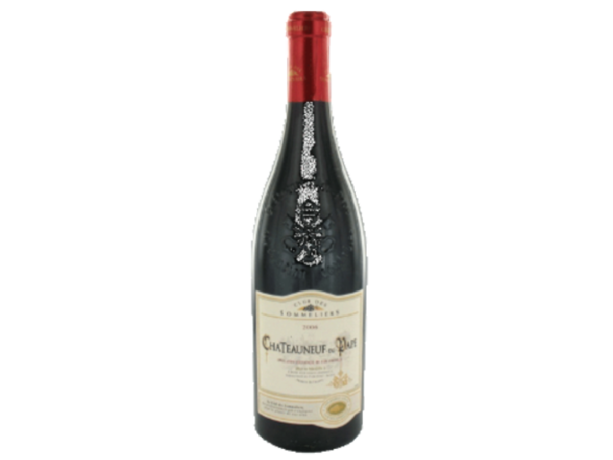 Chateauneuf Du Pape Red Wine Club Des Sommeliers (750ml)