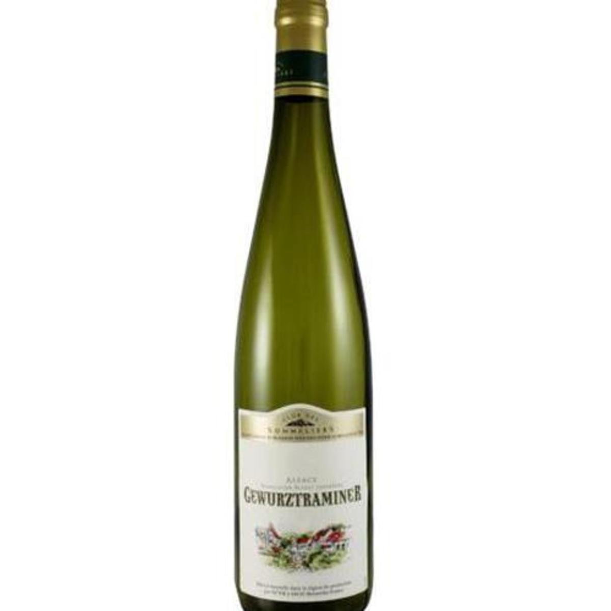 Direct from France - Alsace Gewurztraminer Wine Club Des Sommeliers (750ml)