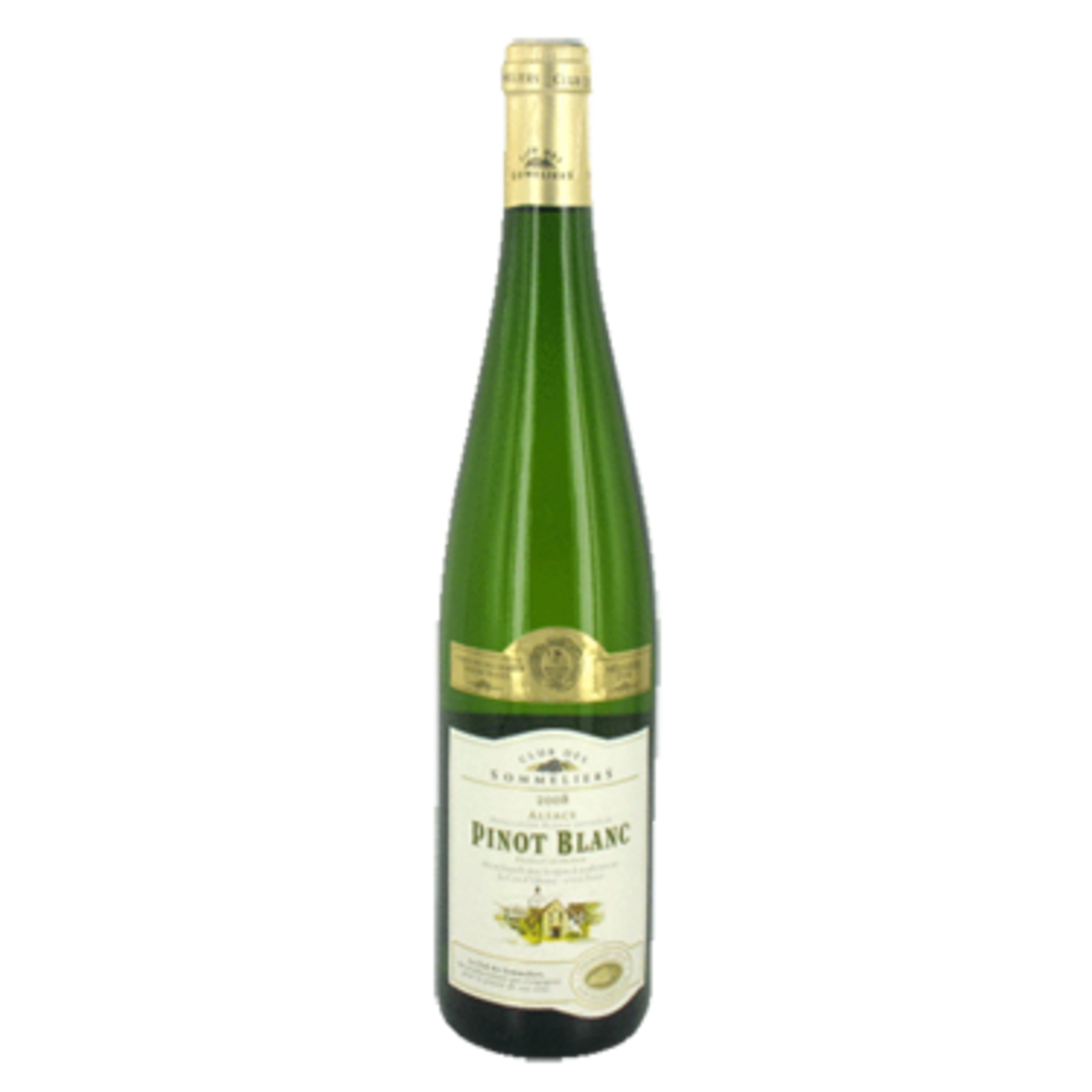 Alsace Alsacian Pinot White Wine Club Des Sommeliers (750ml)