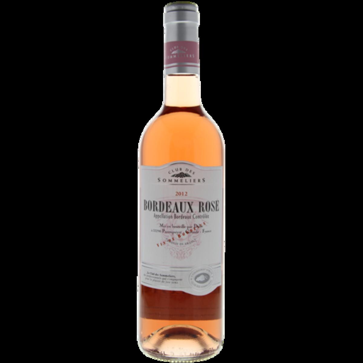 法國直送 - Bordeaux Rose Wine Club des Sommeliers (375ml)