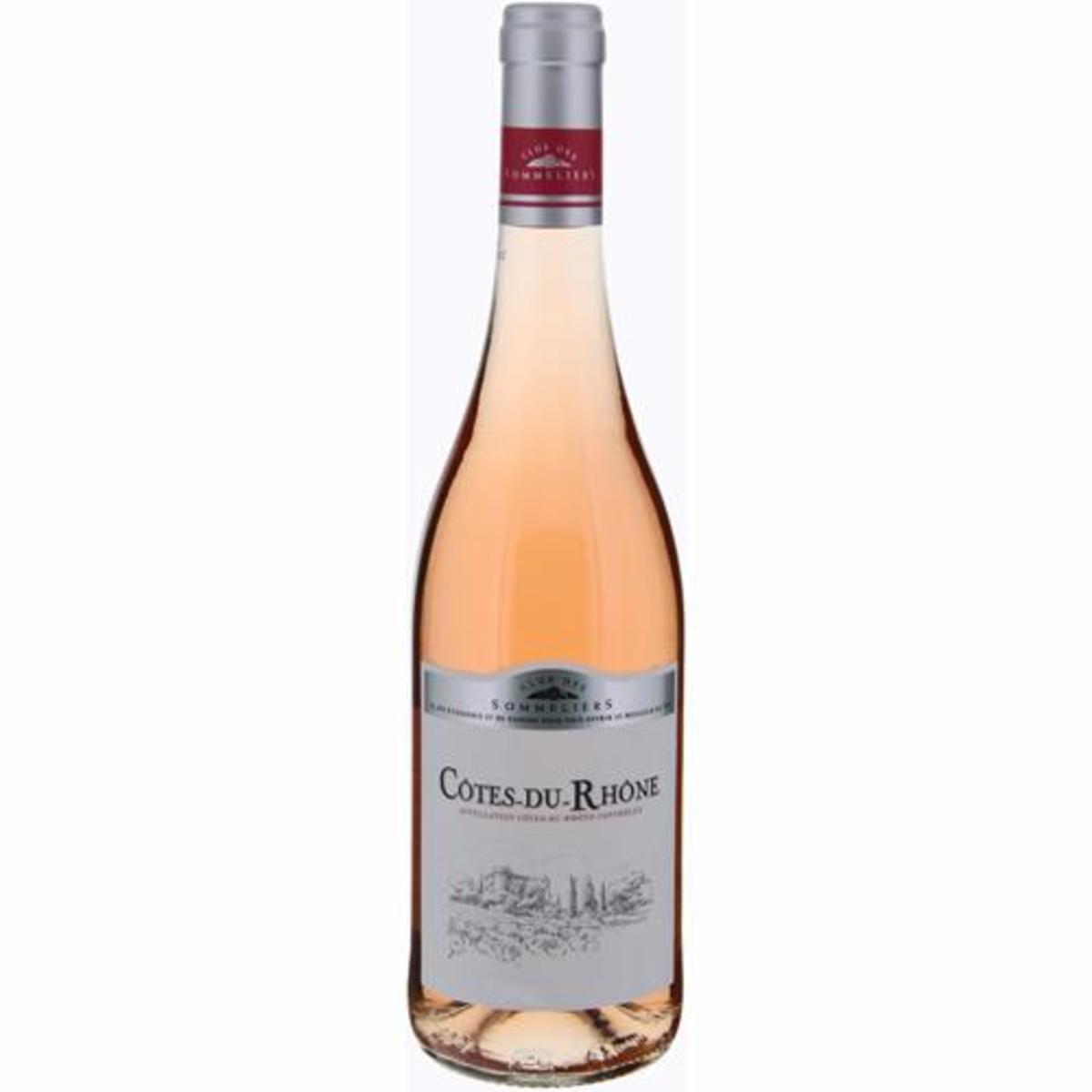 Direct from France - Côtes Du Rhônes Rosé Club Des Sommeliers (750ml)