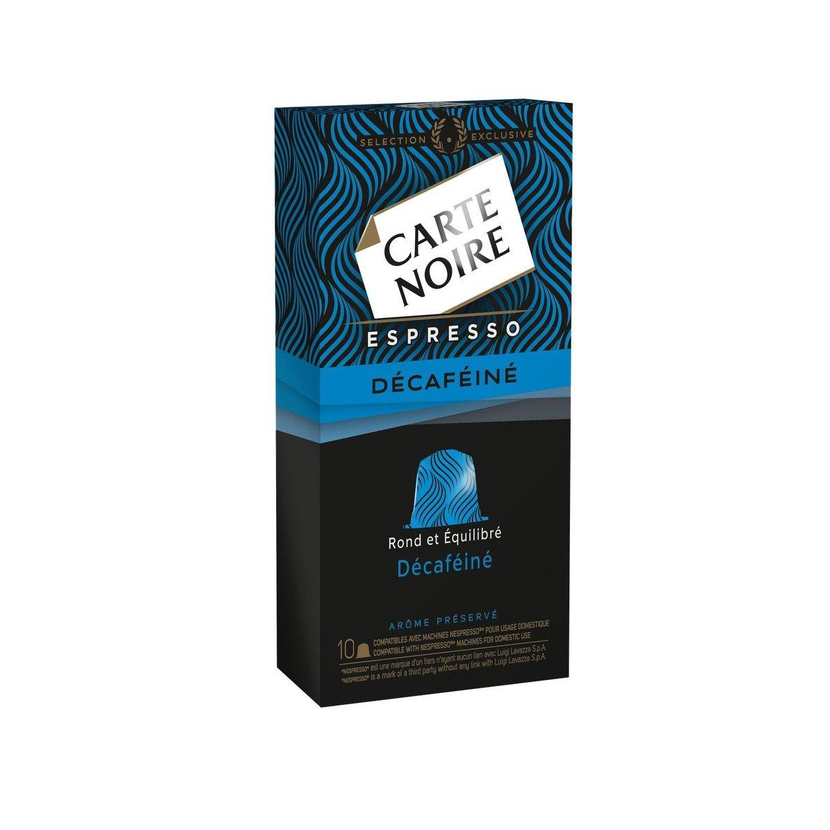 CARTE NOIRE - Coffee Capsules Decaffeinated - 10caps - 53g