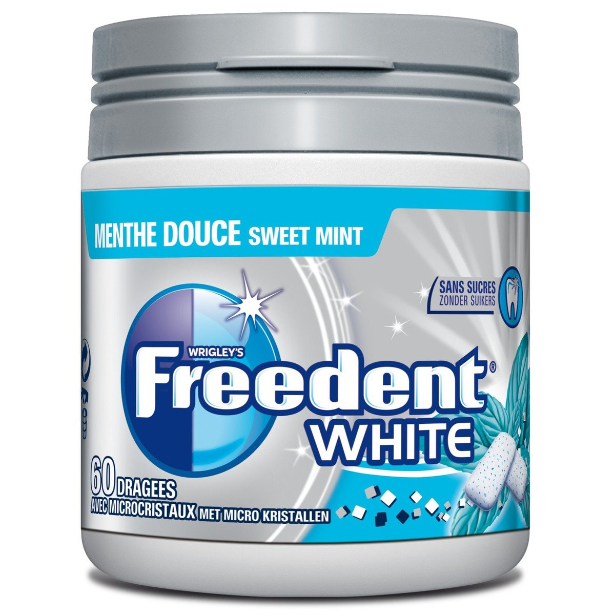 Direct from France - FREEDENT - Chewing Gum - 84g