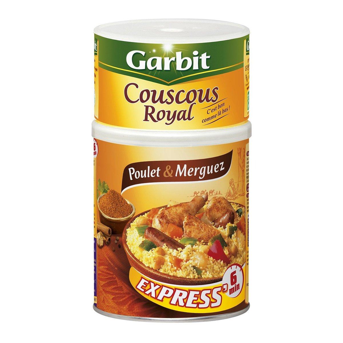 GARBIT - Express Meall Chicken & Merguez Couscous - 980g