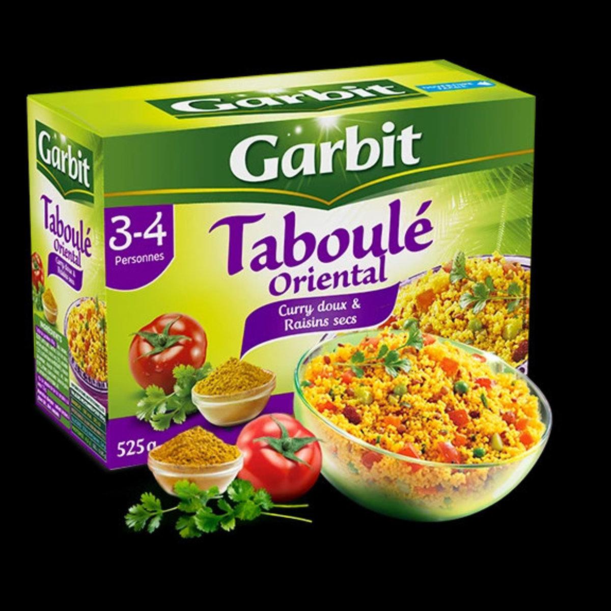 法國直送 - GARBIT - 即食甜咖哩提子古斯米 - 525g