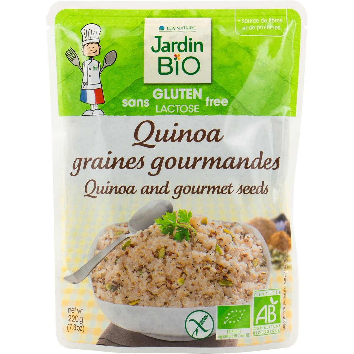 法國直送 - Jardin Bio - 有機無麩質藜麥