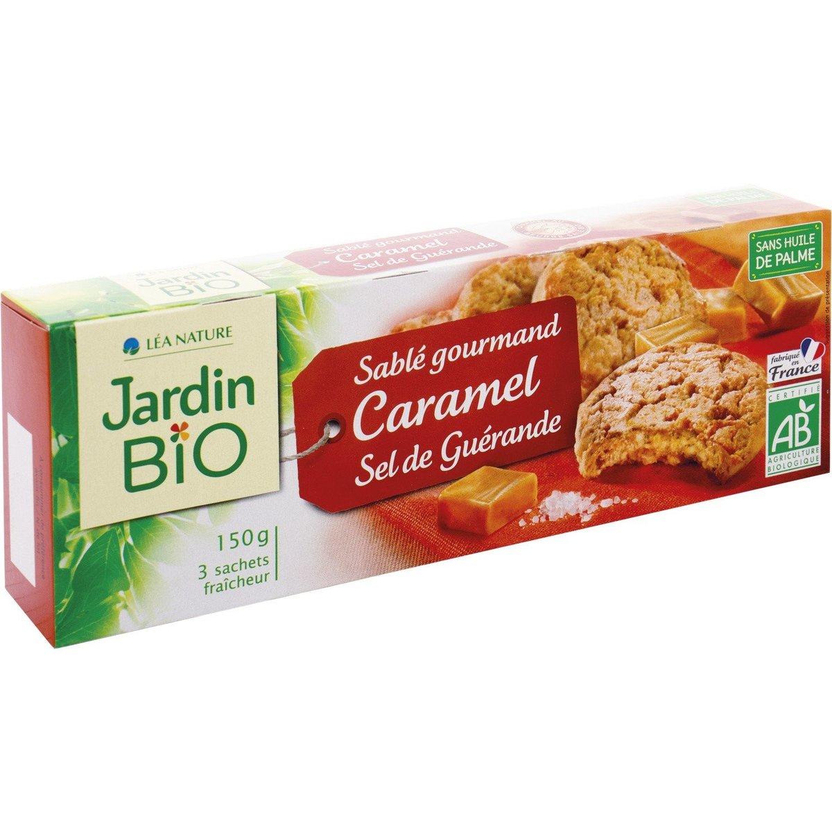 法國直送 - JARDIN BIO - 有機焦糖海鹽 曲奇  - 150g