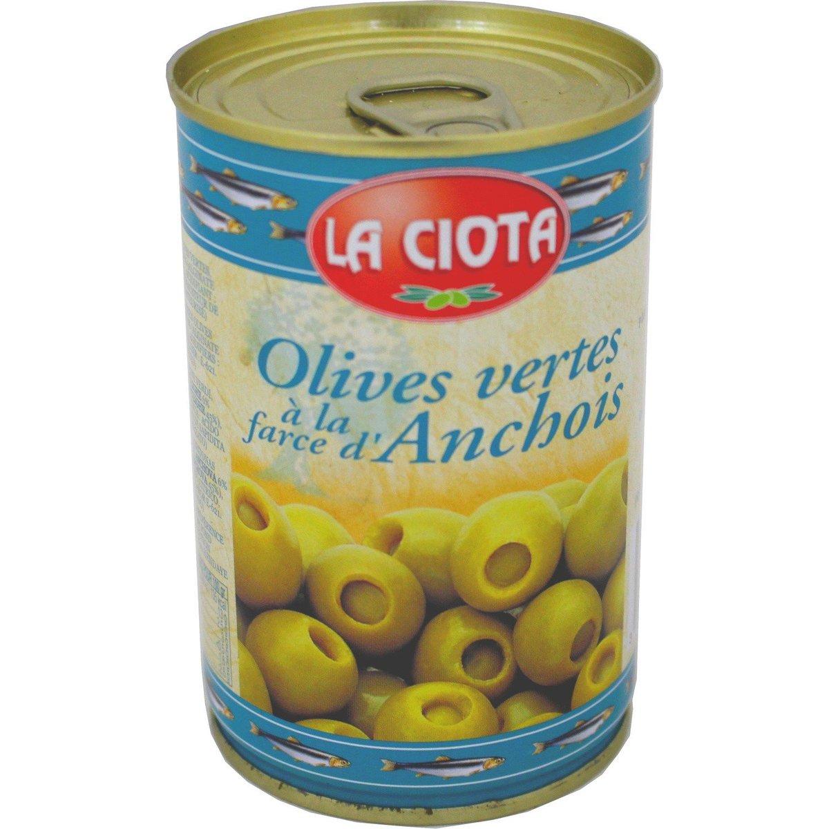 LA CIOTAT - Anchovy Filled Olives - 120g