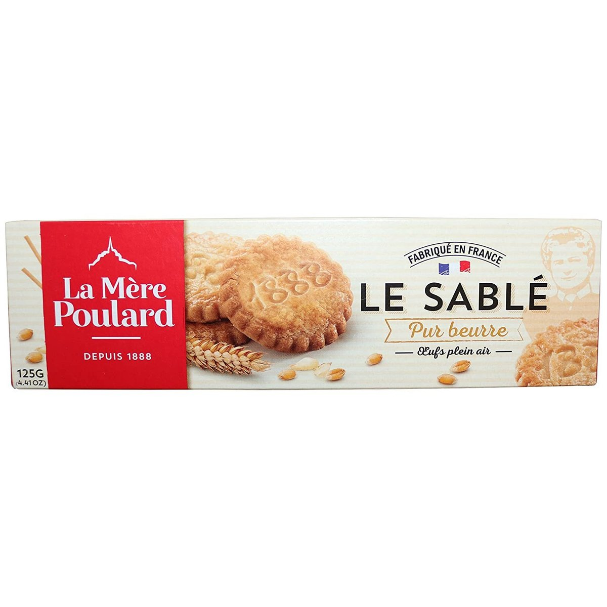 Direct from France - LA MeRE POULARD - Butter Shortbread - 125g
