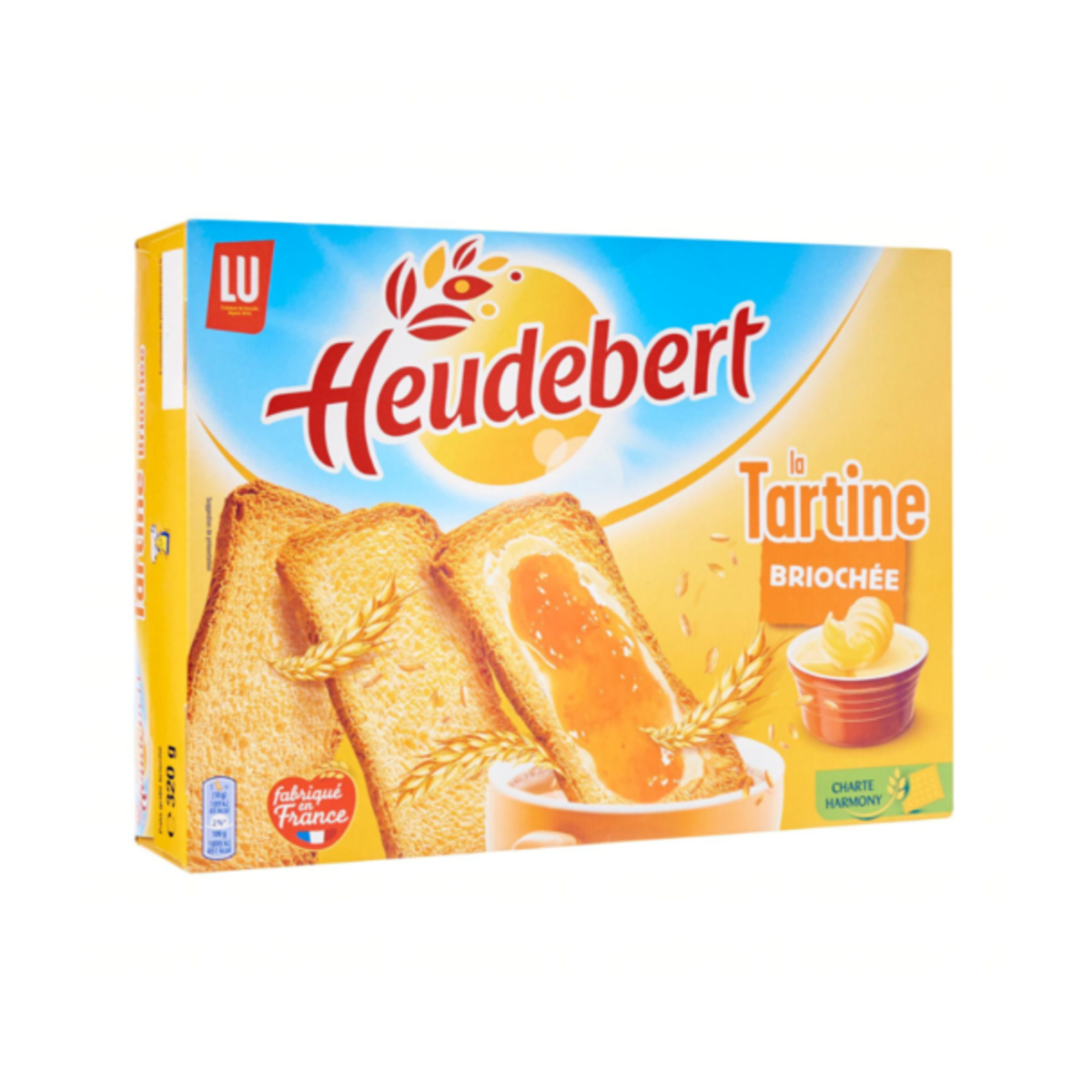 Direct from France - Heudebert Brioche Tartines (320g)