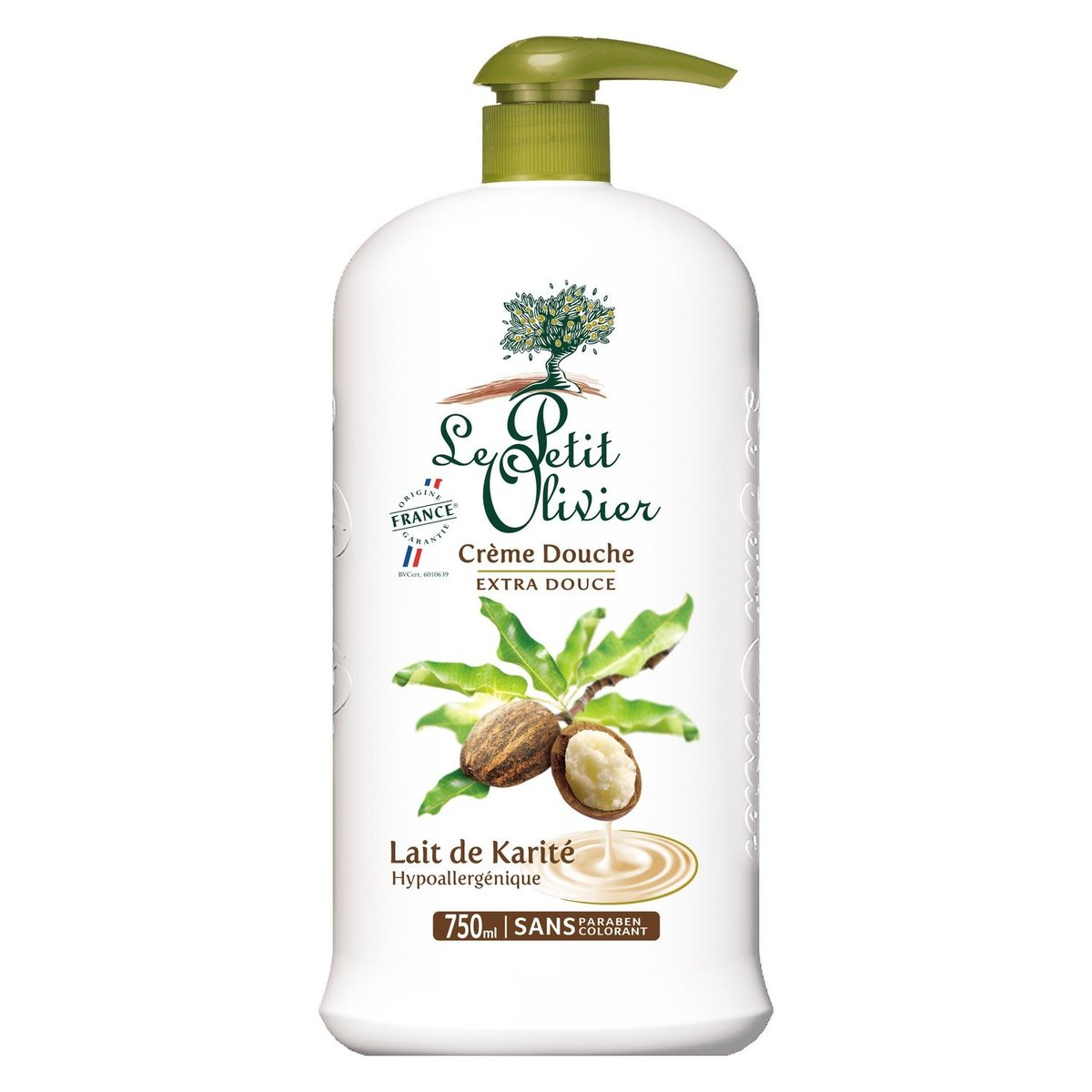 LE PETIT OLIVIER - Shea Butter Shower Cream - 750m