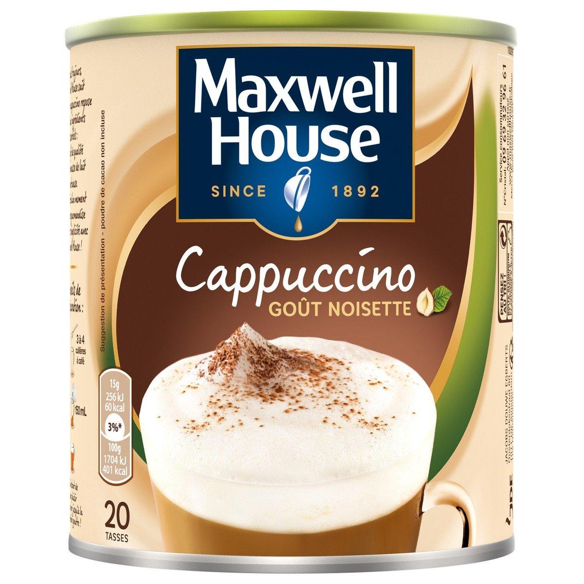 法國直送 - MAXWELL HOUSE - 意大利榛子泡沫咖啡 - 305g
