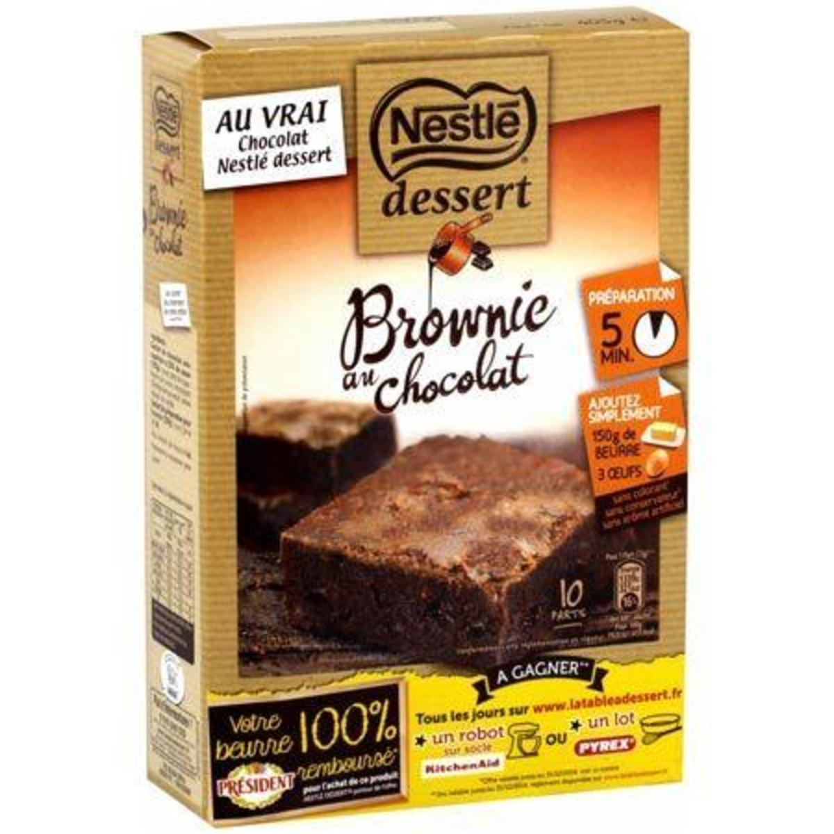 Chocolate Brownie Baking (405g)