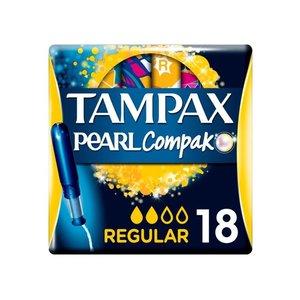 康德萊寶 法國直送 - TAMPAX - 衛生棉條連導管- 普通流量 - 18支