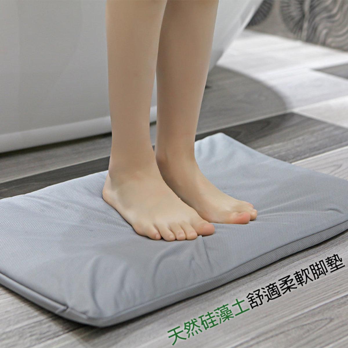 原生態硅藻土柔軟脚墊/吸水速乾浴室地墊