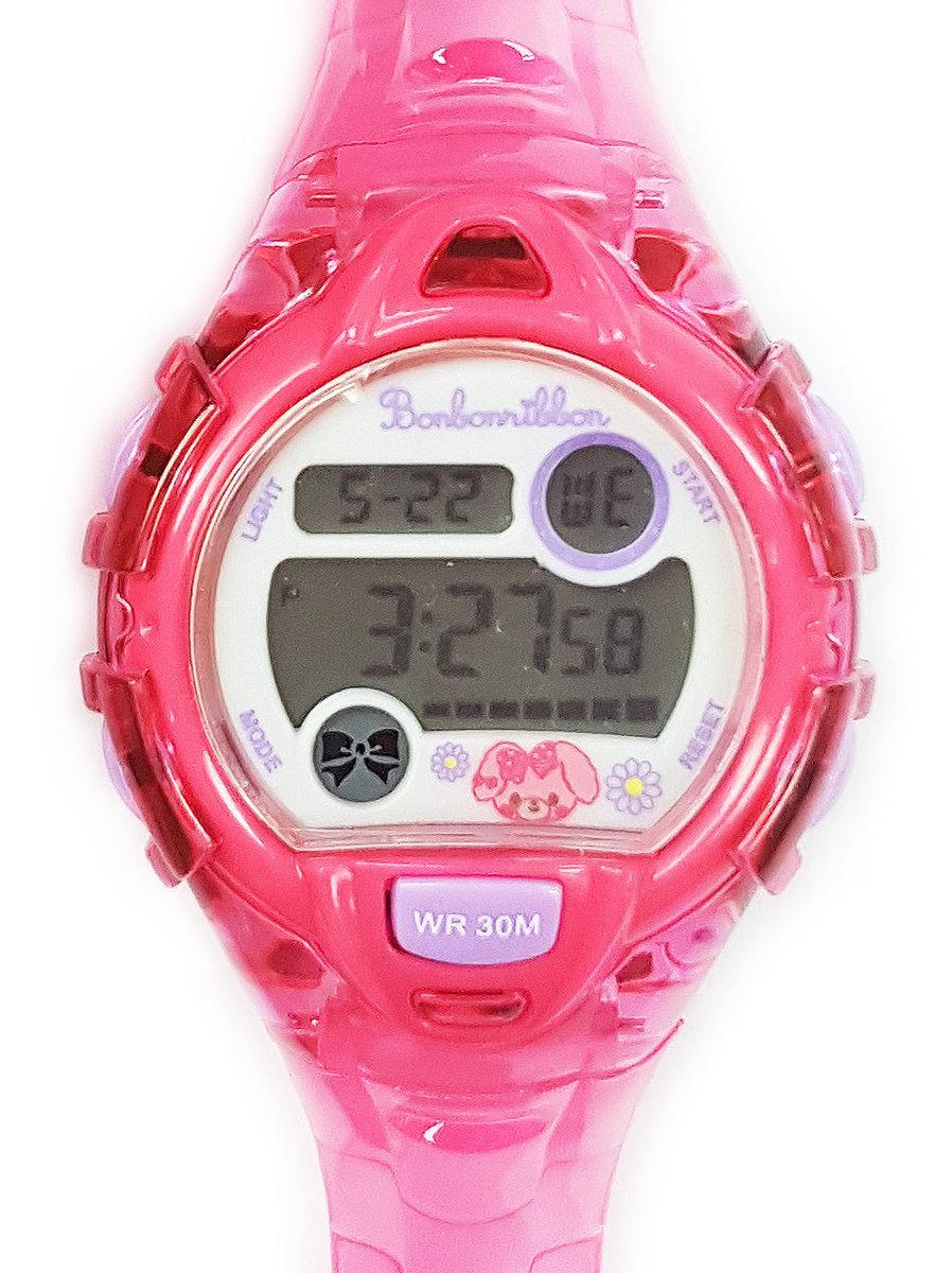 SANRIO - Bonbonribbon 電子手錶 (粉紅色)