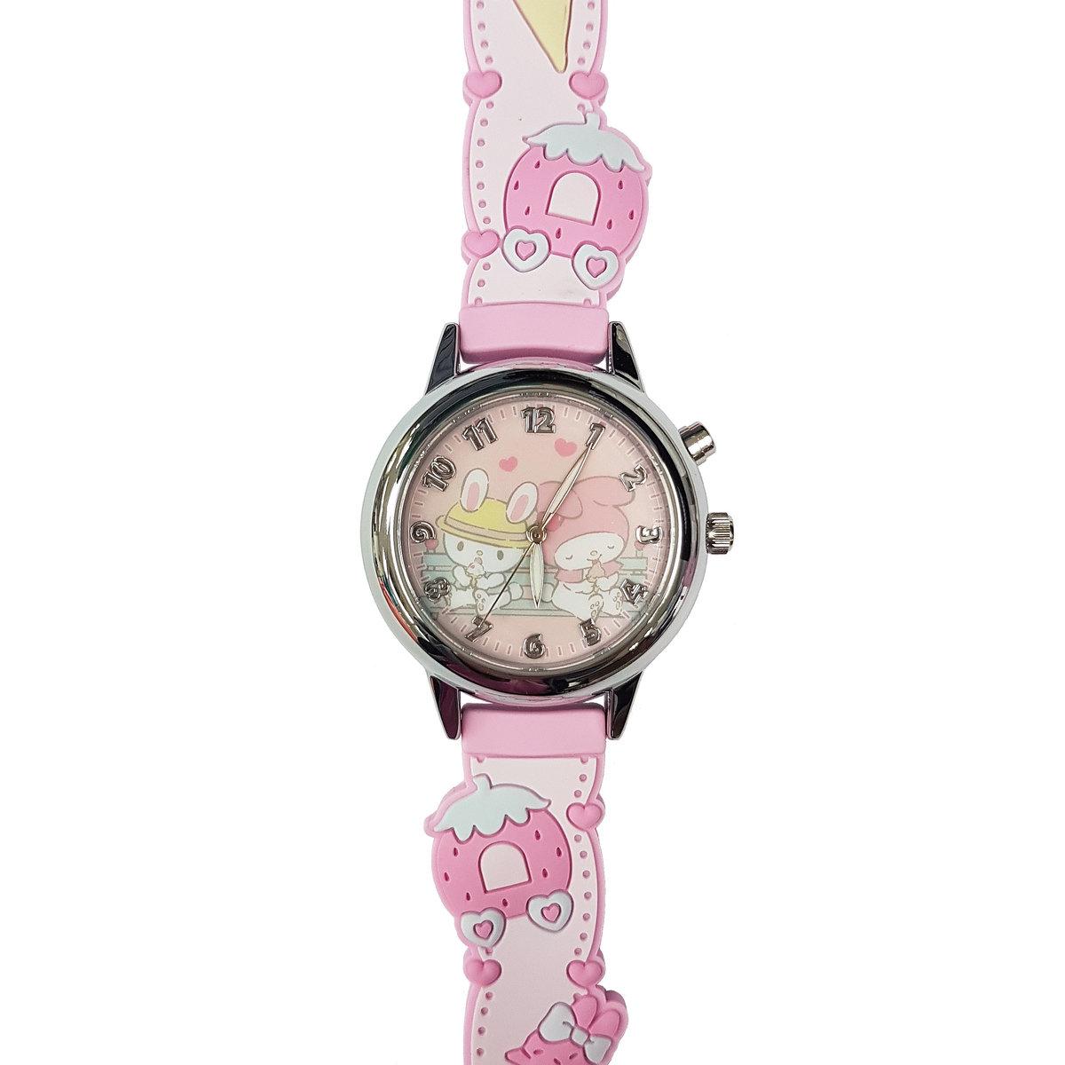 SANRIO - My Melody light up quartz watch (Pink)