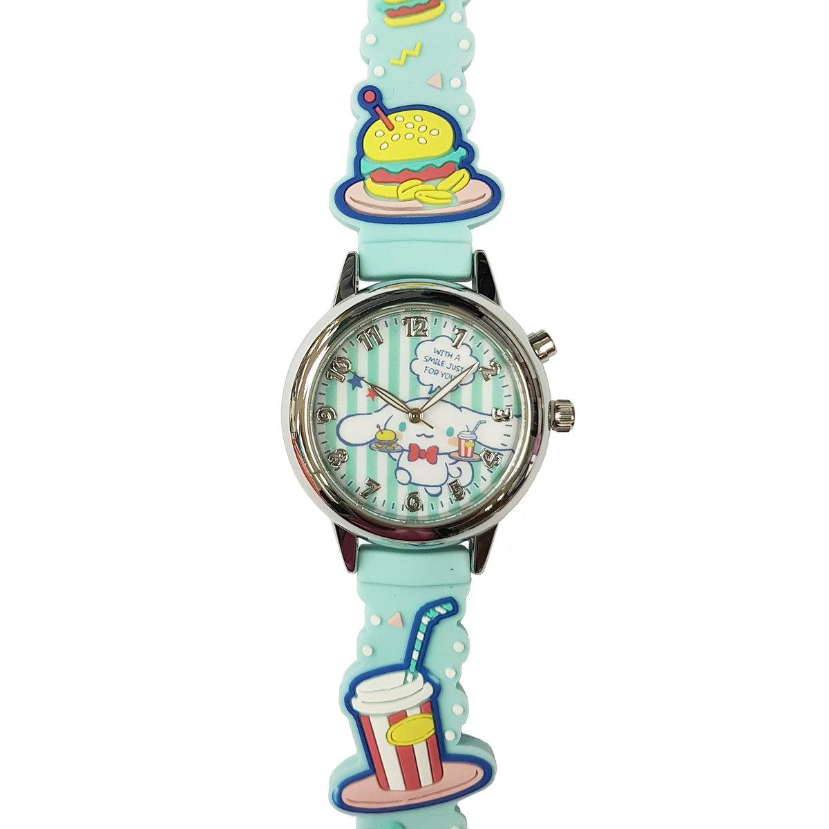 SANRIO - Cinnamoroll light up quartz watch (Light blue)