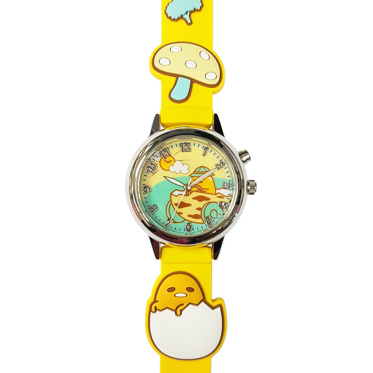 SANRIO - Gudetama light up quartz watch (Orange)