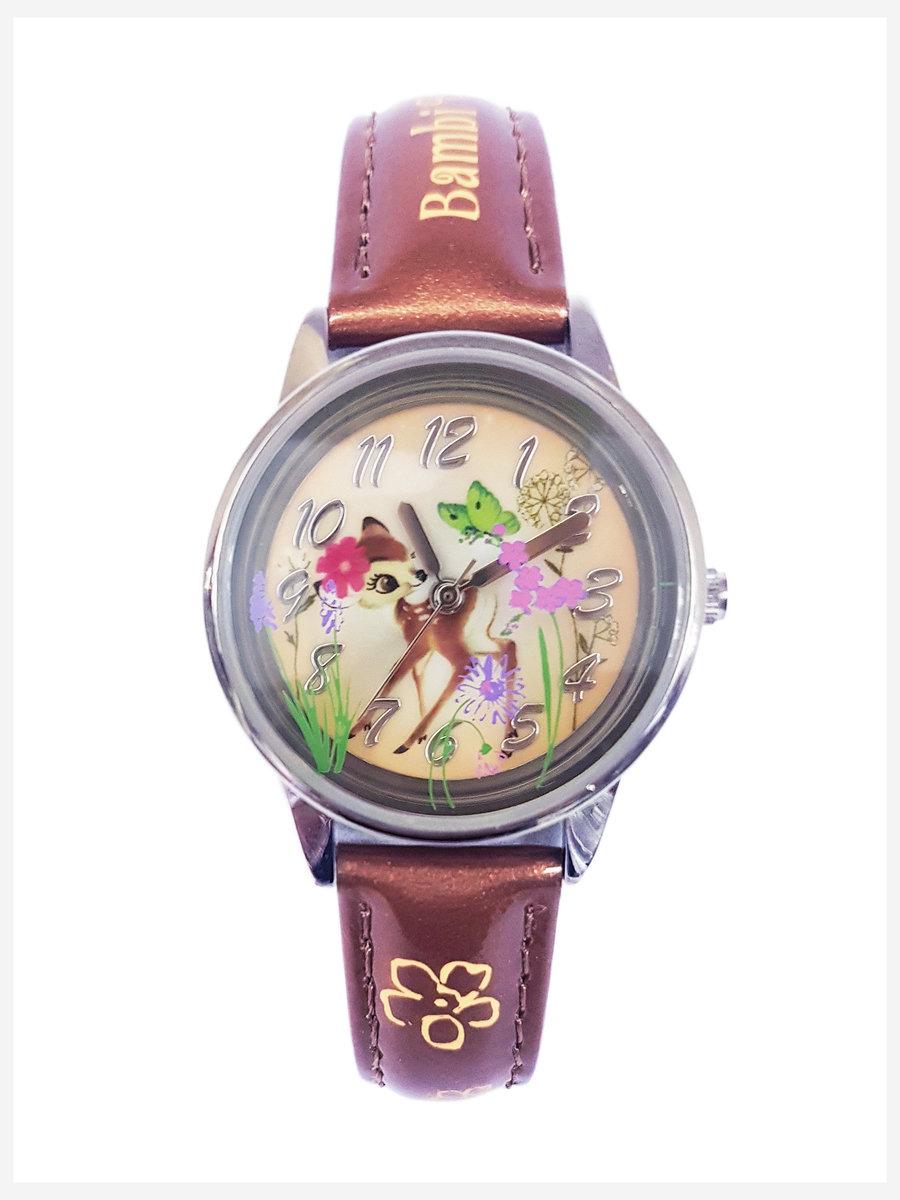廸士尼-小鹿斑比圖案小童手錶 (迪士尼許可產品)