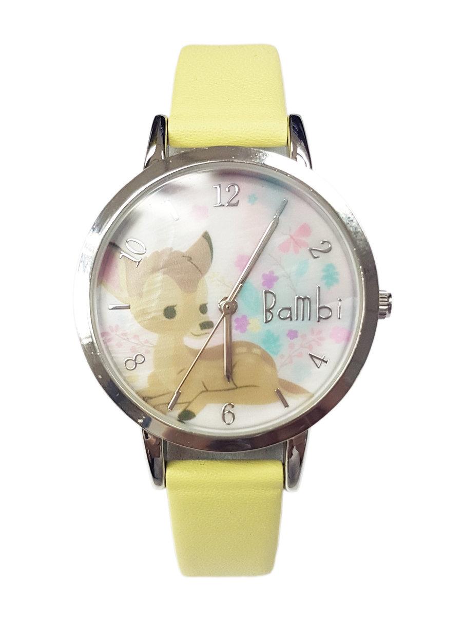 廸士尼-小鹿斑比圖案手錶 (迪士尼許可產品)