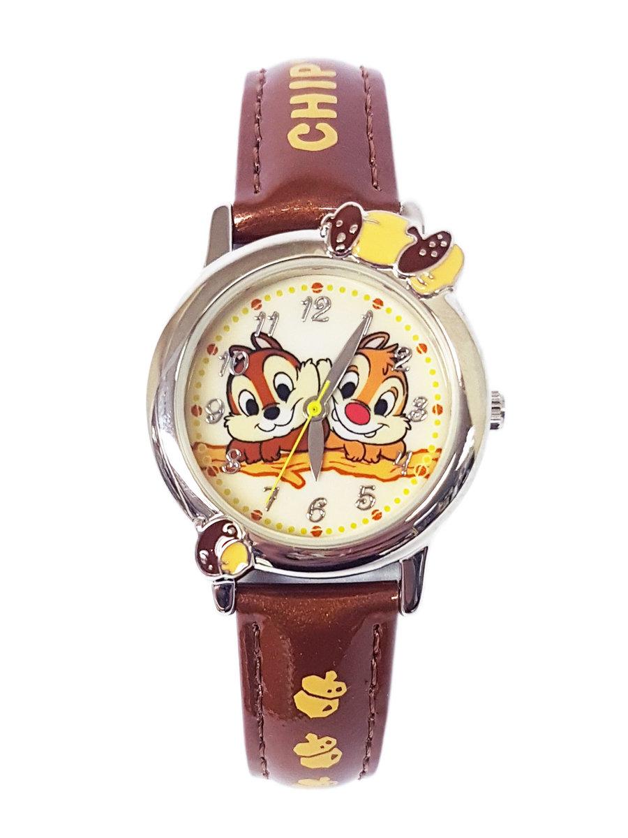 廸士尼-Chip N Dale 圖案小童手錶 (迪士尼許可產品)